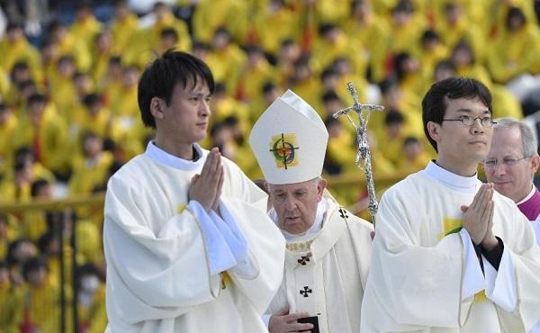 Opus Dei - 教宗在长崎主持弥撒