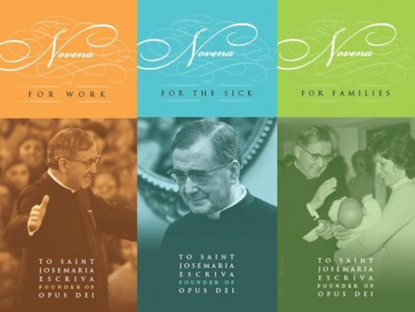 Four novenas​ to St. Josemaria
