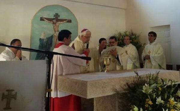 Nueva capilla de San Josemaría en Quinahue (Chile)