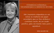 O poder da confiança: São Josemaria e a missão da mulher