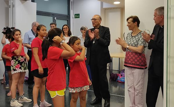 El cardenal de Barcelona visita Terral