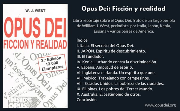 """Opus Dei - """"Opus Dei: Ficción y realidad"""""""