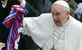 Las 10 frases futboleras del Papa