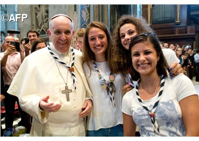 Opus Dei - Posolstvo Svätého Otca Františka k 32. svetovému dňu mladých