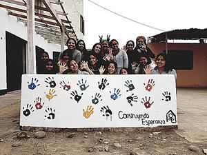 Construyendo Esperanza: universitarias aplican mensaje del Papa Francisco