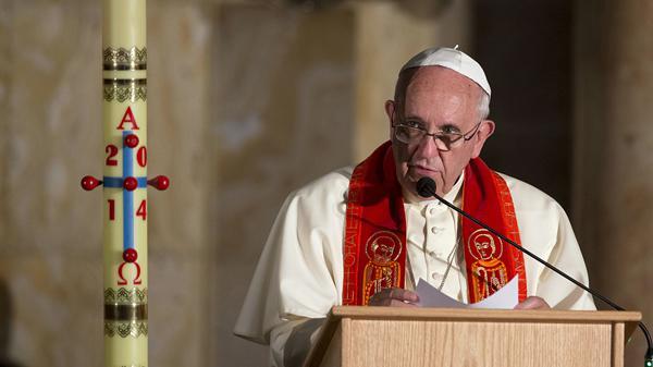 """""""Santo Padre, ¿le puedo dar un abrazo?"""""""
