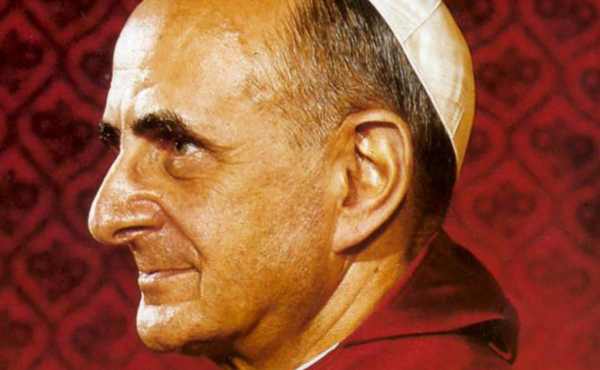 Opus Dei - Pablo VI y san Josemaría