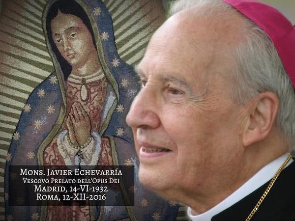 Opus Dei - Biografia e foto di mons. Javier Echevarría