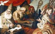 Com a companhia dos Padres da Igreja