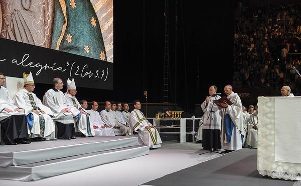 Opus Dei - كلمات المونسنيور فرناندو أوكاريز بعد تطويب غوادالوبي