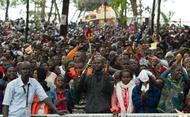 Encuentro con la Comunidad musulmana en la mezquita central de Koudoukou, en Bangui
