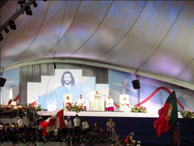 Opus Dei - Así vivieron peregrinas y voluntarias la vigilia de la JMJ 2019 con el Papa Francisco