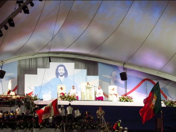 Así vivieron peregrinas y voluntarias la vigilia de la JMJ 2019 con el Papa Francisco