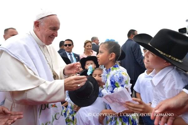 Opus Dei - Textos do Papa Francisco na Colômbia (2017)