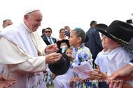 Textos do Papa Francisco na Colômbia (2017)