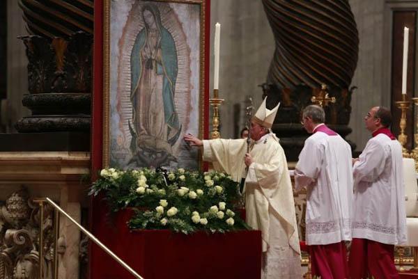 Cinco Frases Del Papa Francisco Sobre La Virgen De Guadalupe Opus Dei