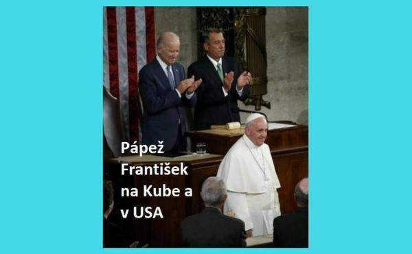Elektronická kniha z audiencií Pápeža Františka na Kube a v Amerike