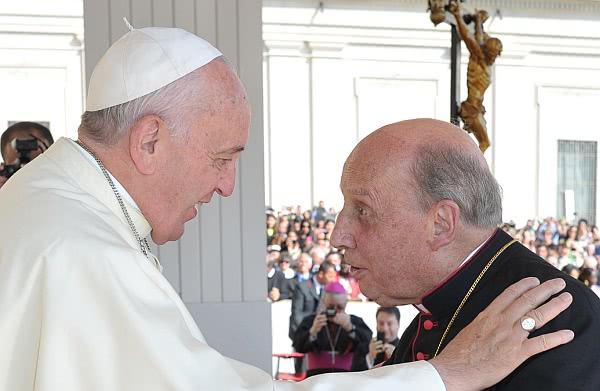 Opus Dei - Telegramm von Papst Franziskus zum Tode des Prälaten des Opus Dei