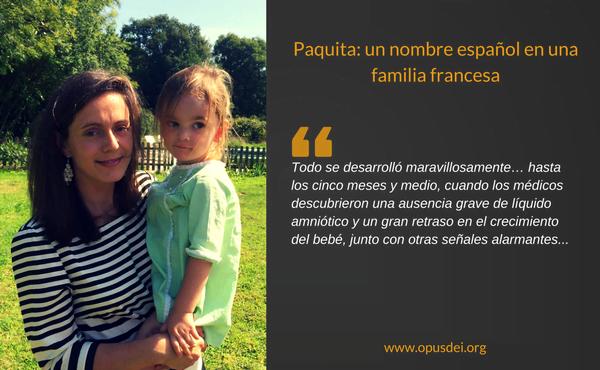 Paquita: un nombre español en una familia francesa