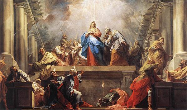 Život Panny Márie (XVIII): Zoslanie Ducha Svätého