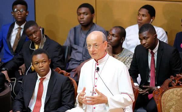 監督范康仁蒙席訪問尼日利亞首三天的照片