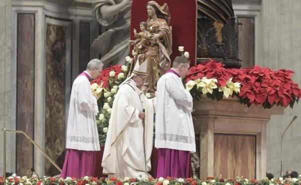 """教宗主持主顯節彌撒:""""天主沒有站在世界的舞臺上顯示自己"""""""