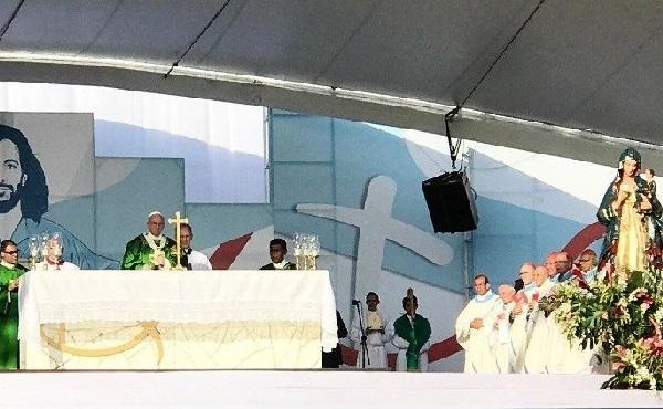 """教宗主持世青節閉幕彌撒:青年是天主的""""當下"""""""