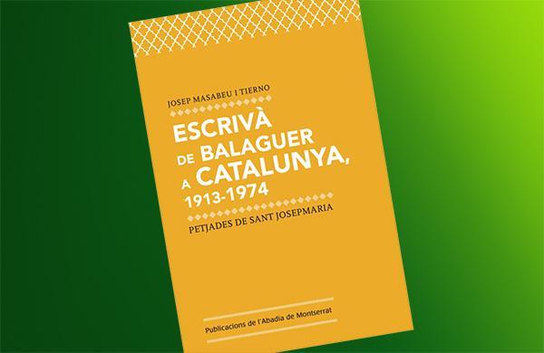 """Calendari de presentacions del llibre """"Escrivà de Balaguer a Catalunya"""""""
