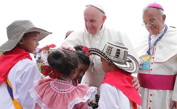 Último día del Papa Francisco en Colombia