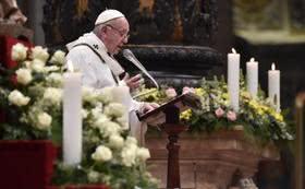 Botschaft des Papstes zur Fastenzeit 2018