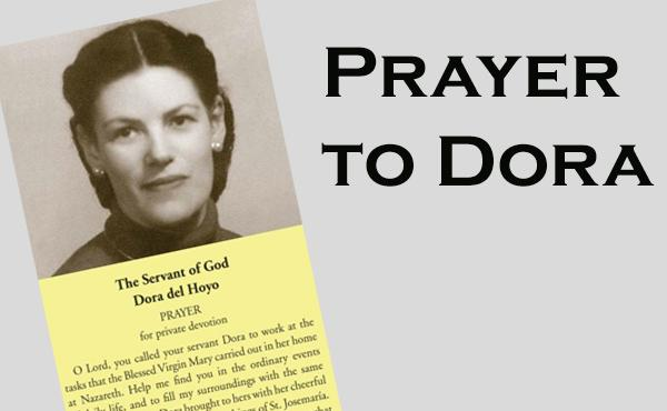 Prayer for Dora del Hoyo's Intercession