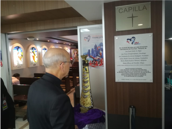 El Padre en Panamá para la JMJ