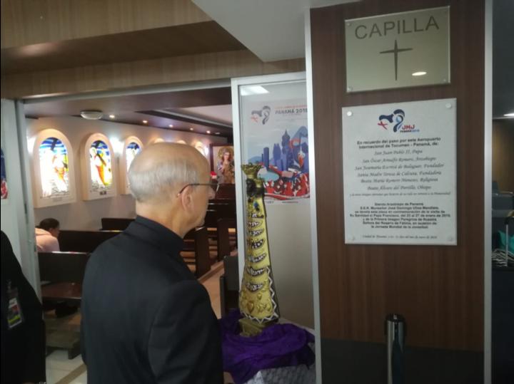 Opus Dei - El Padre en Panamá para la JMJ