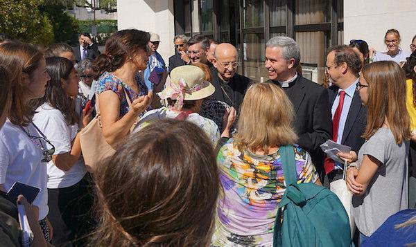 Arrivée du prélat de l'Opus Dei au Portugal