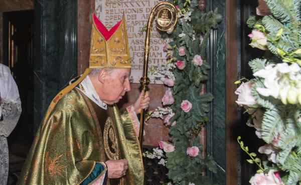 Clôture de l'année jubilaire de la Miséricorde à Sainte-Marie-de-la-Paix