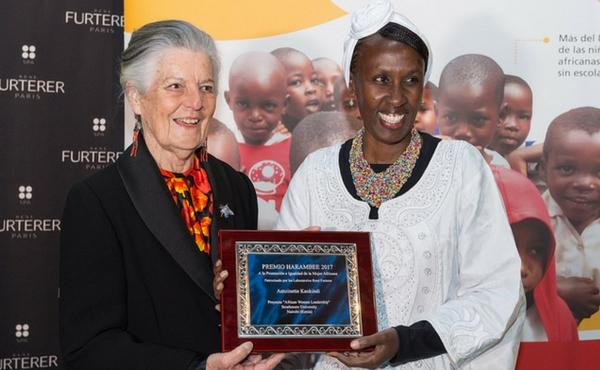 """Opus Dei - Antoinette Kankindi, Premio Harambee 2017: """"La mujer es el auténtico motor de África"""""""