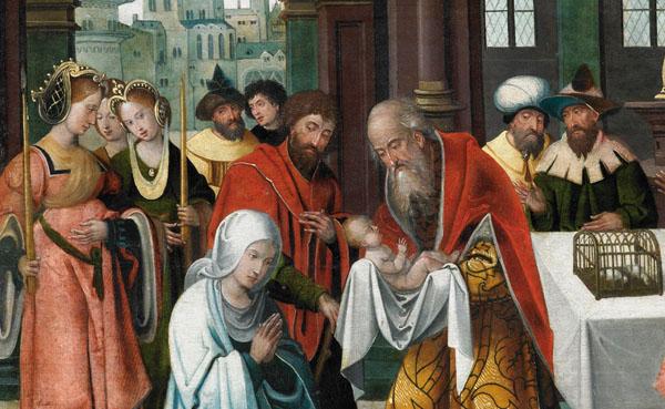 Opus Dei - Marias liv (VIII): Jesu frambärande i Templet