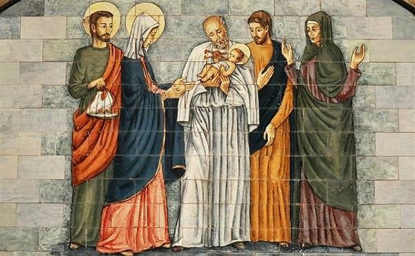 2月2日:聖母獻耶穌於聖殿