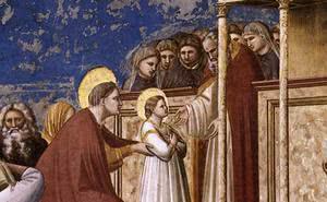 獻聖母於聖殿:教會訓導,聖人