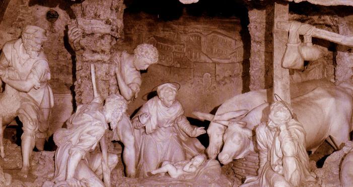 Opus Dei - Rezar diante da gruta de Belém