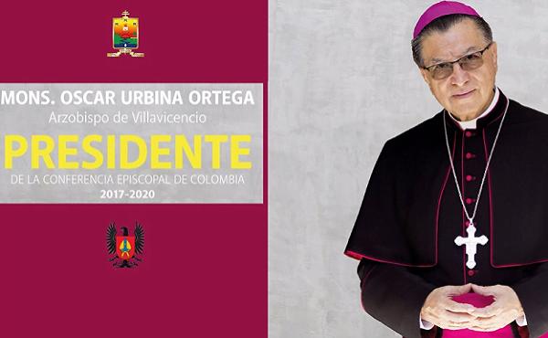 Opus Dei - Mons. Óscar Urbina Ortega, Presidente de la Conferencia Episcopal de Colombia