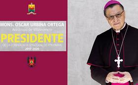 Mons. Óscar Urbina Ortega, Presidente de la Conferencia Episcopal de Colombia