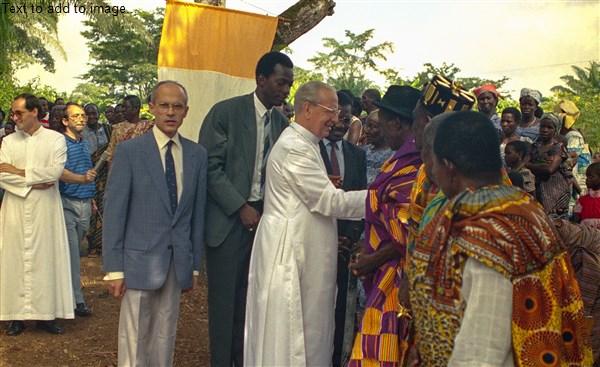 Opus Dei - M'Batto Bouaké célèbre les 25 ans de la visite d'un Bienheureux
