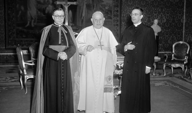 Opus Dei - Seconda udienza di Giovanni XXIII a San Josemaría