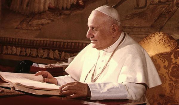 Prima udienza di Giovanni XXIII a San Josemaría