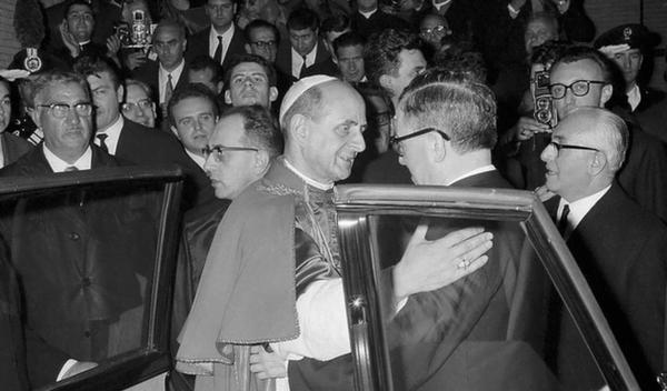 Discorso di Paolo VI nel Centro ELIS