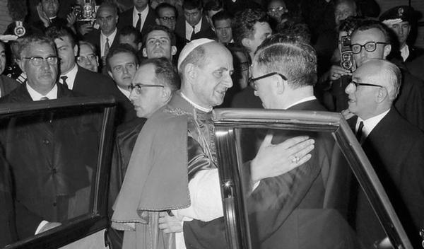 Paolo VI e San Josemaría