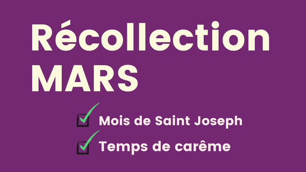 Opus Dei - Récollection Mars