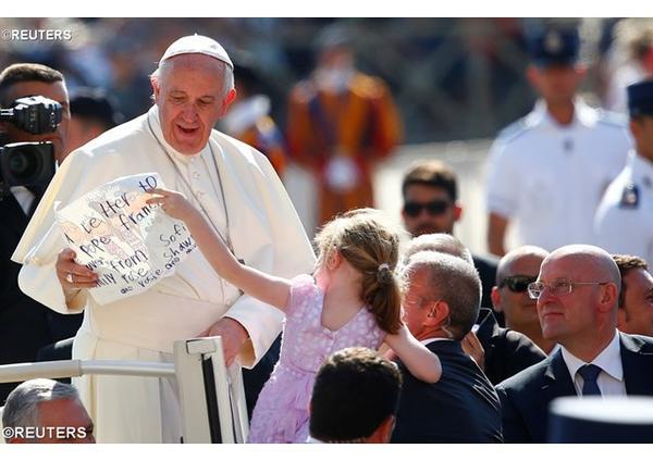 Opus Dei - Pápežová audiencia: Nádej byť svätým