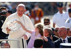 Pápežová audiencia: Nádej byť svätým